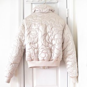 CHANEL Jackets & Coats - RARE Chanel 18B Camellia Coco Neige Down Jacket